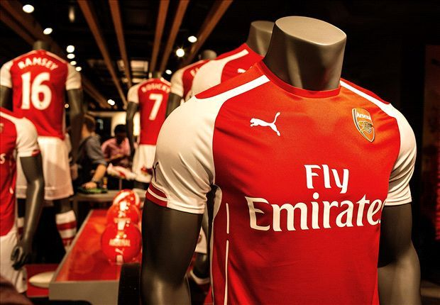 Arsenal's spectacular kit launch