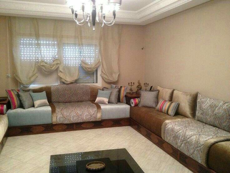 Salons Modernes, Marokkanische Einrichten, Modernen Marokkanische,  Marokkanische Inneneinrichtung, Marokkanischer Stil, Islamisches Dekor,  Wohnzimmer, ...