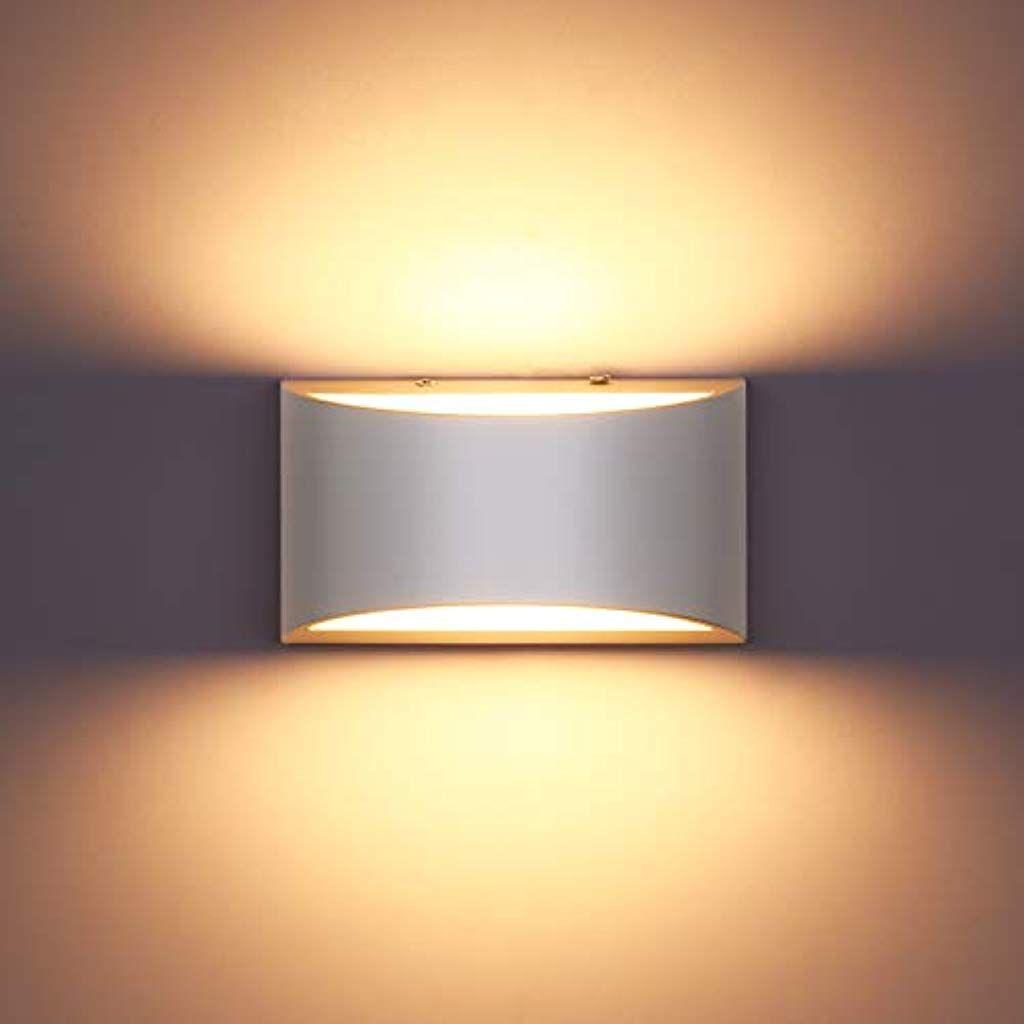 Lightess 10w Led Wandleuchte Innen Weiss Wandlampe Modern Up Down Leuchten Flurlampe Beleuchtung Fur Treppenhaus Wohnzimmer S In 2020 Wandleuchte Wandlampe Beleuchtung