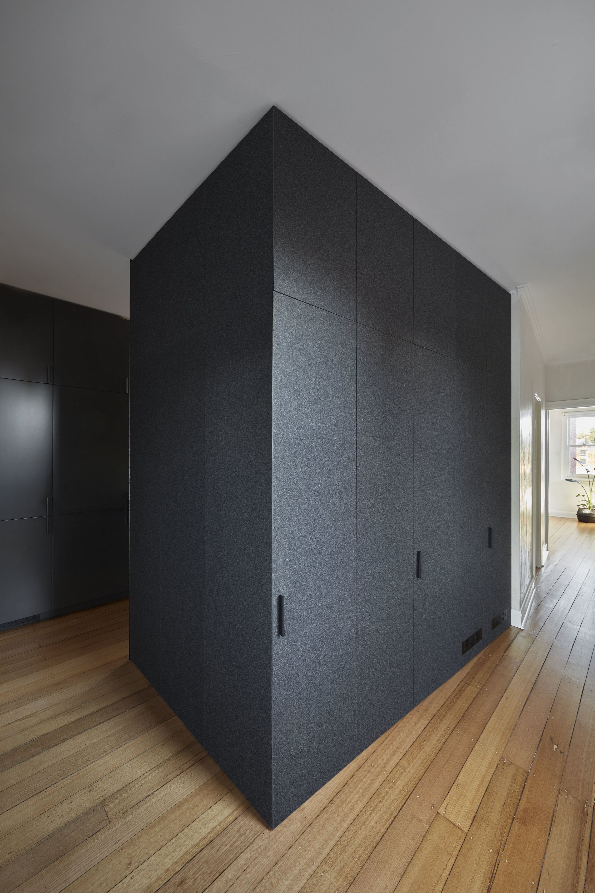 Integrated Black Joinery