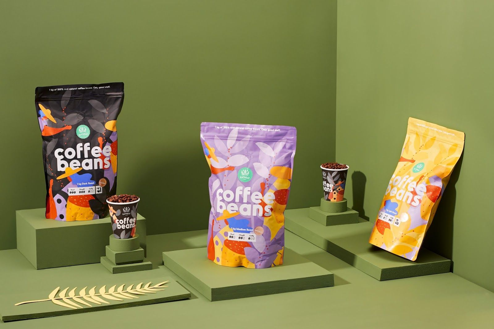 Coffee Beans | Packaging design inspiration, Coffee beans ...