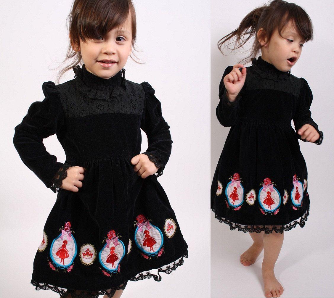 Gothic Lolita / Childrens Dress / Girls Dress / Holiday ...