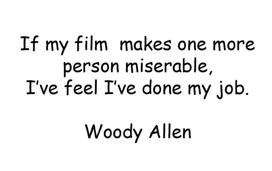 #WoodyAllen