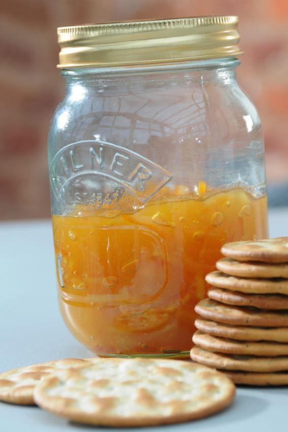 Mango chutney, yummy!