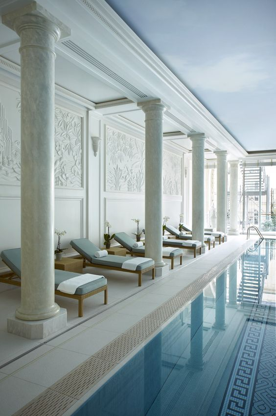 Hotel Shangri La Paris Spa Buscar Con Google Spa Pinterest Shangri La Spa And Indoor Pools