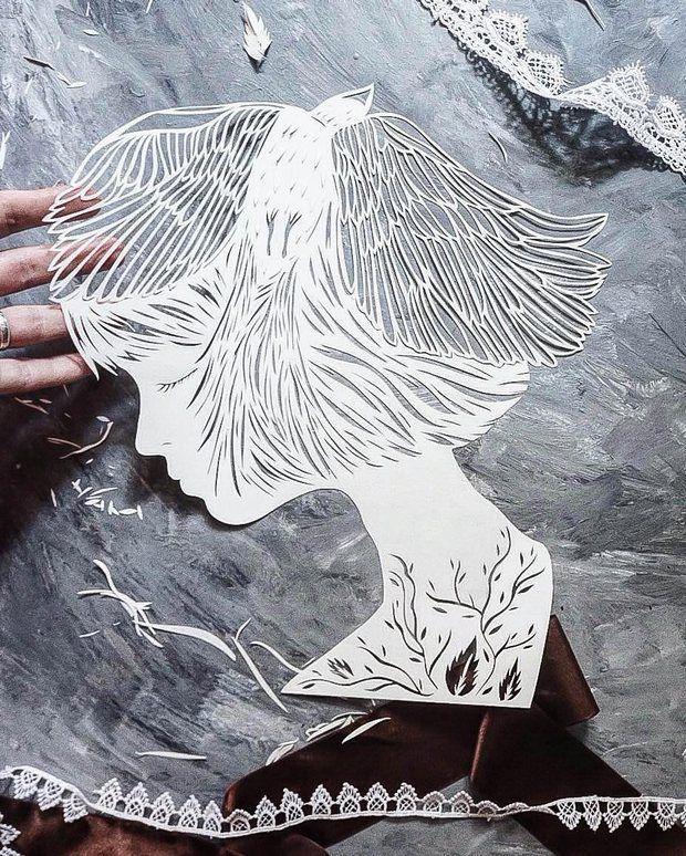 Papeis nas mãos habilidosas da artista ucraniana Eugenia Zoloto transformam-se em esculturas incrivelmente delicadas. Conheça sua arte em paper cut!