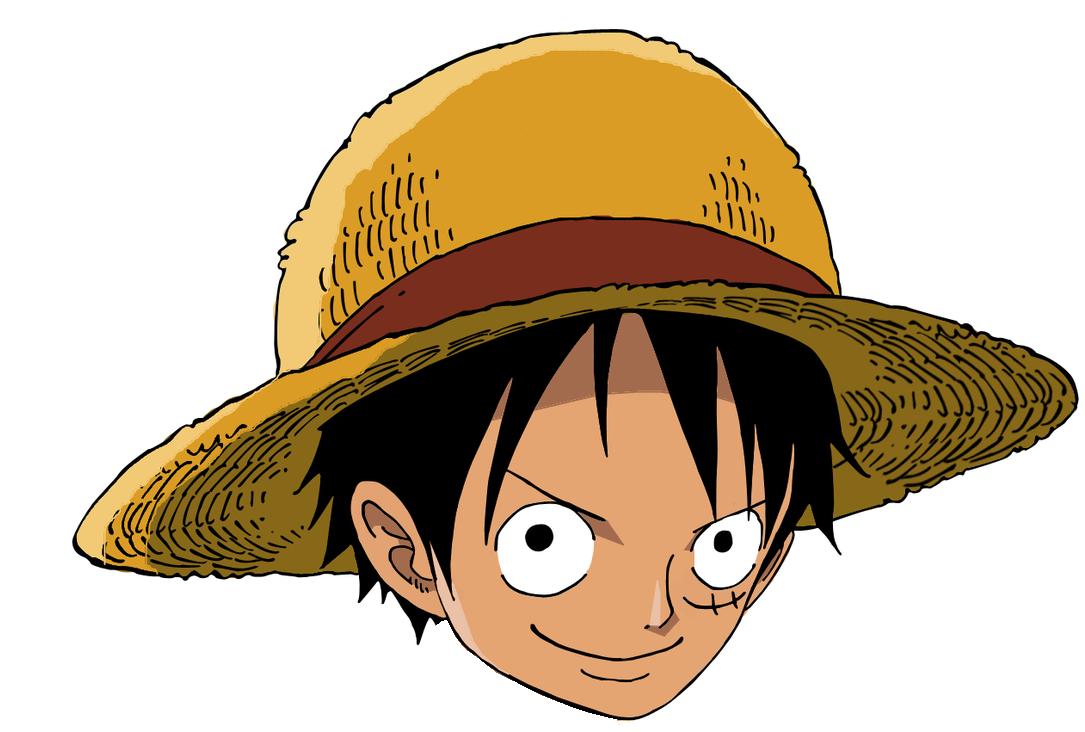 Mentahan Gambar Kepala Anime One Piece Png Menggambar