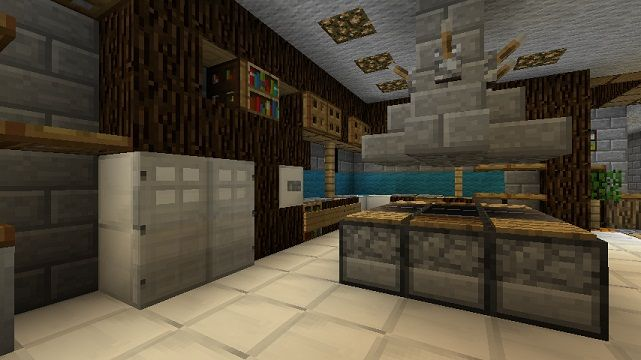 Come Make A Functioning Kitchen In Minecraft This Saturday Minecraft Kitchen Ideas Minecraft Room Minecraft Interior Design