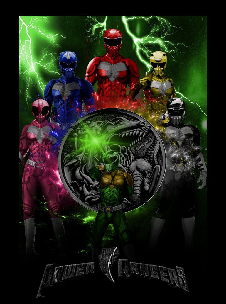 Power Rangers Movie Poster 2 By Geektruth64 Deviantart Com On
