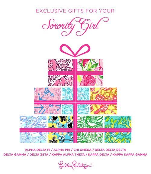 Lilly Pulitzer Sorority Girl I Wish I Could Pin This To Gamma Phi