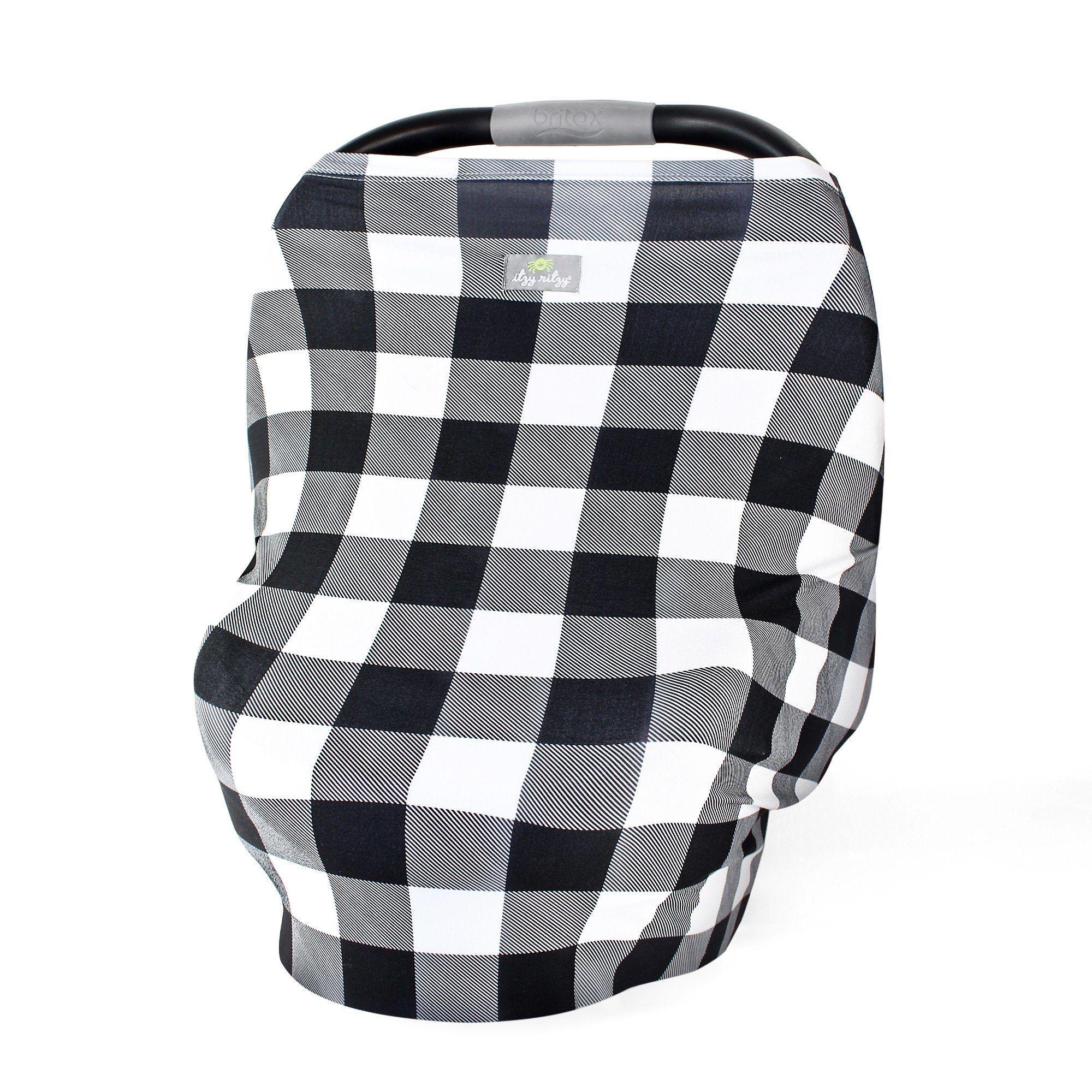 Itzy Ritzy Mom Boss 4-in-1  Nursing//car seat//cart cover