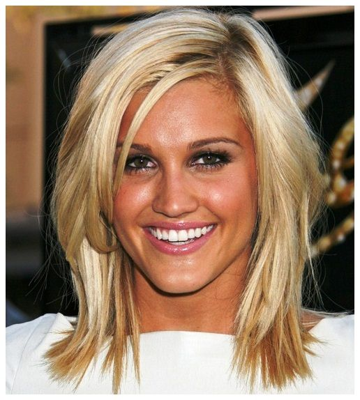 Shoulder-Length Layered Hairstyles For Fine Hair : Haircuts Styles ...