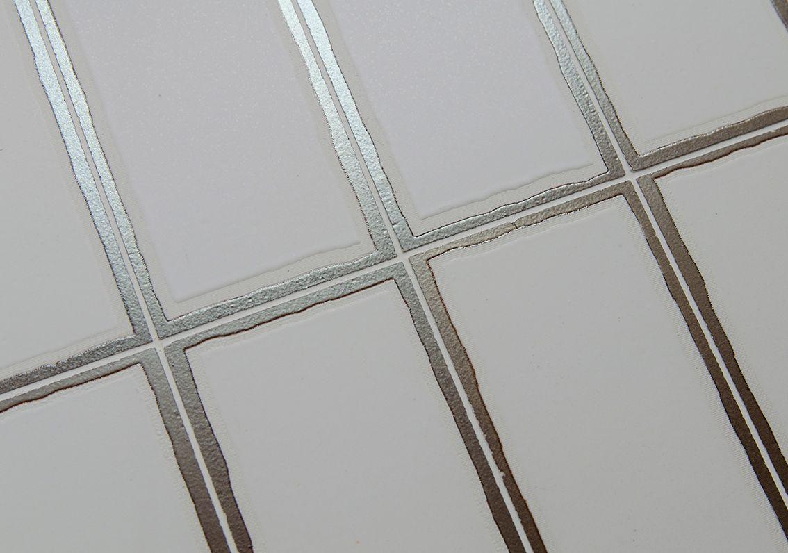 Tratto, Brick  Stone Source  through body porcelain tile  White