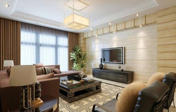 Decoration Please Use The Tv On Wall Design Ideas To Watch A Favorite Movie Together While Th Wood Walls Living Room Accent Walls In Living Room Tv Wall Decor
