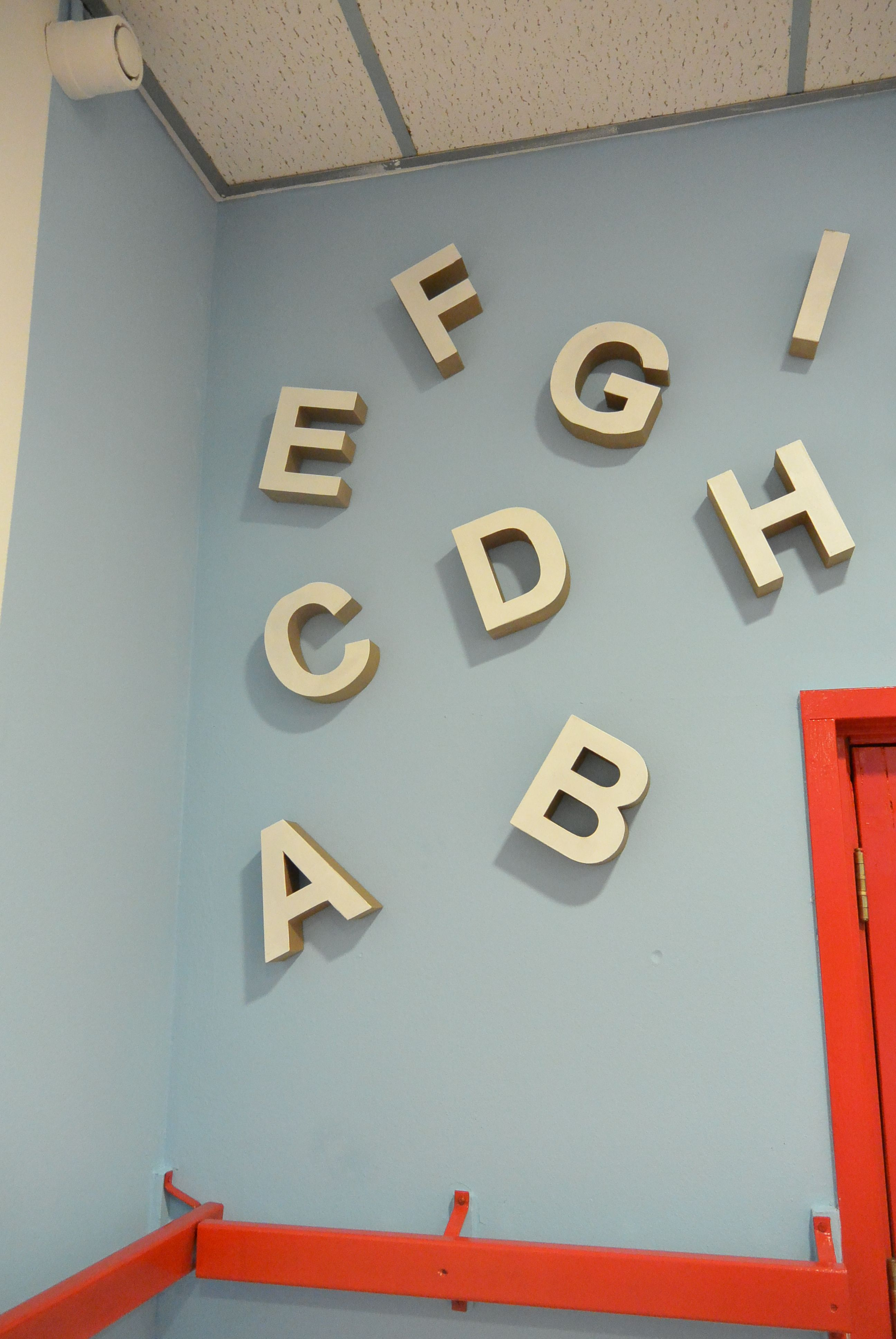 Kartonnen abc van kartonnen letters #Xenos | Eigen project Bax ...