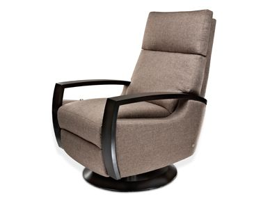 American Leather chloe Chair. Great mix of Mid Mod and