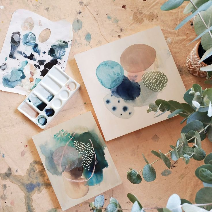 Watercolour Abstracts - #Abstracts #graphism #Watercolour