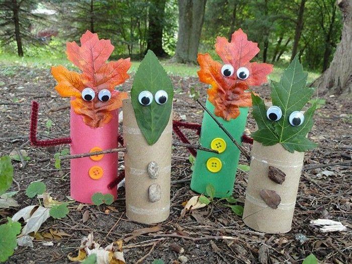 Basteln im Herbst - 40 Ideen, wie die Natur ins Hause bringen - Archzine.net