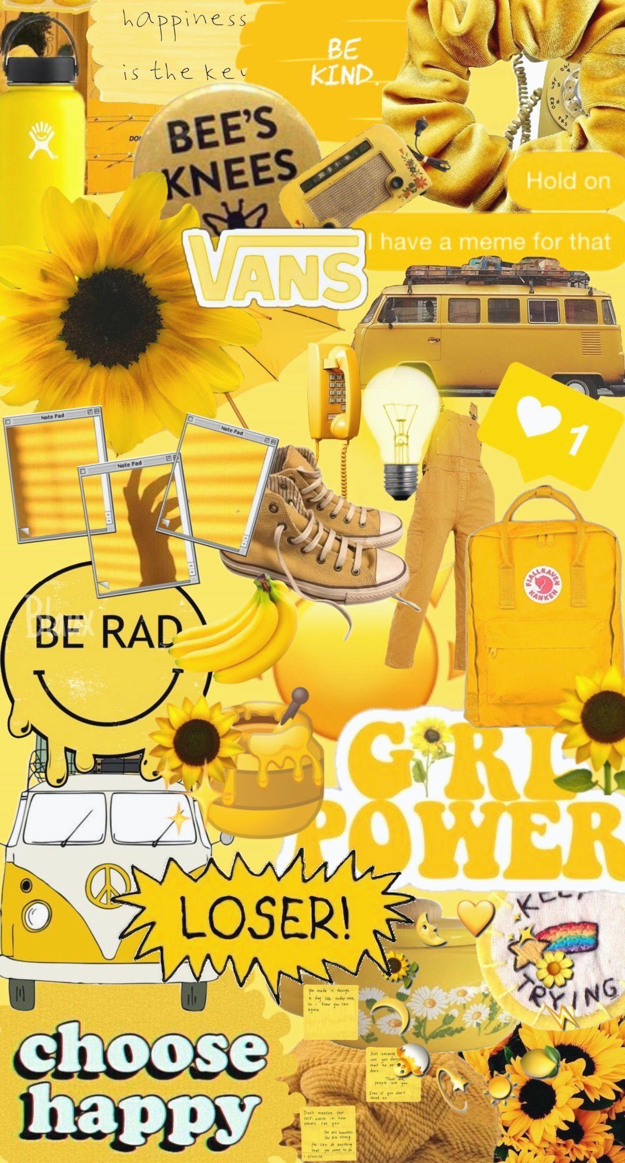 Vsco Yellow Wallpapers Wallpaper Cave Wallpaper Iphone Ilustrasi Kartu Ucapan Seni Tradisional