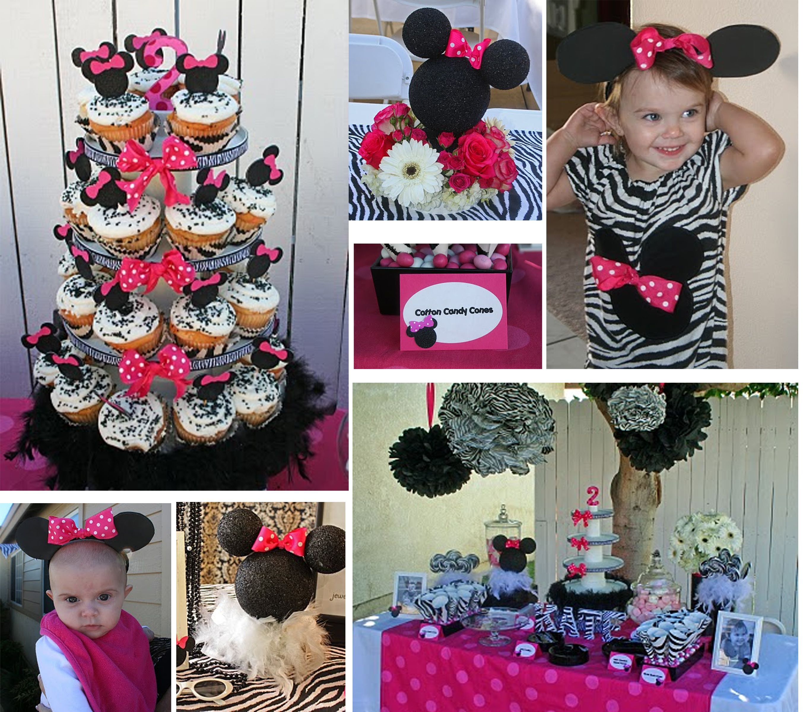 Minnie Mouse Zebra party ideas Minnie Mouse Birthday Finley
