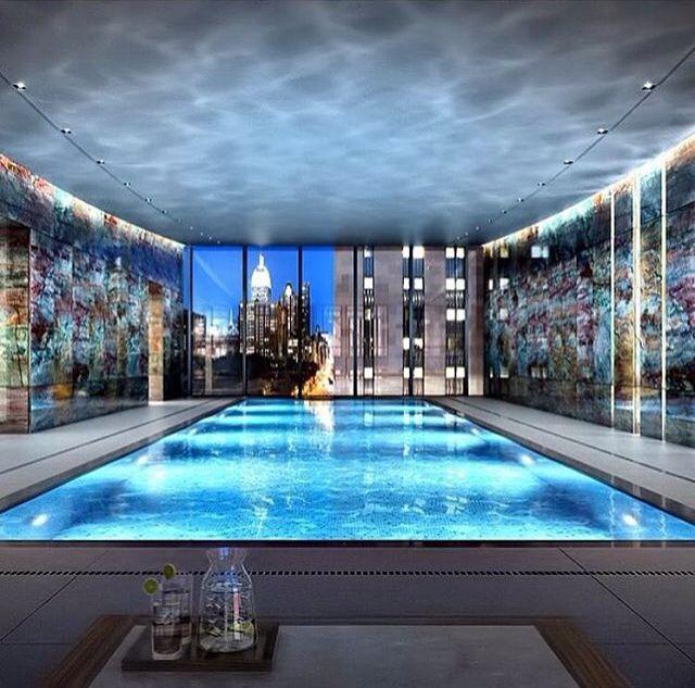 Indoor Pool bauen - 50 traumhafte Schwimmbäder | Living | Pinterest ...