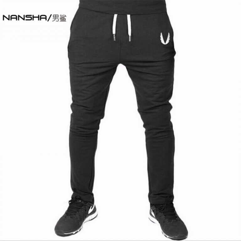 Mens Casual Patchwork Sports Gym Sweatpants Hippies Joggers Trousers Bottoms