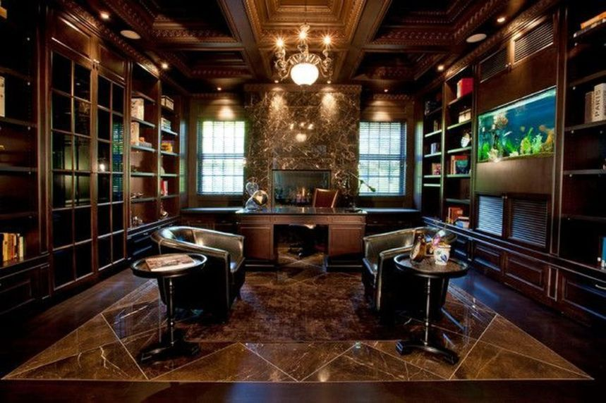 44 Stylish And Luxury Office Design Ideas Executive Office