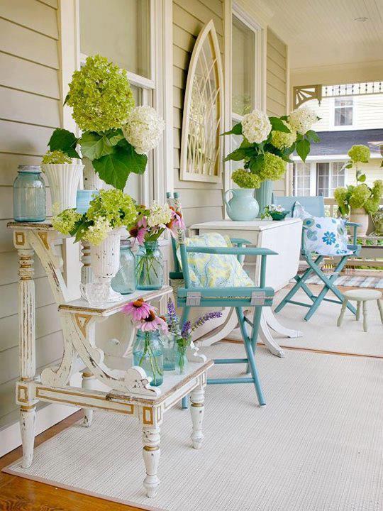 Porch - love the colors
