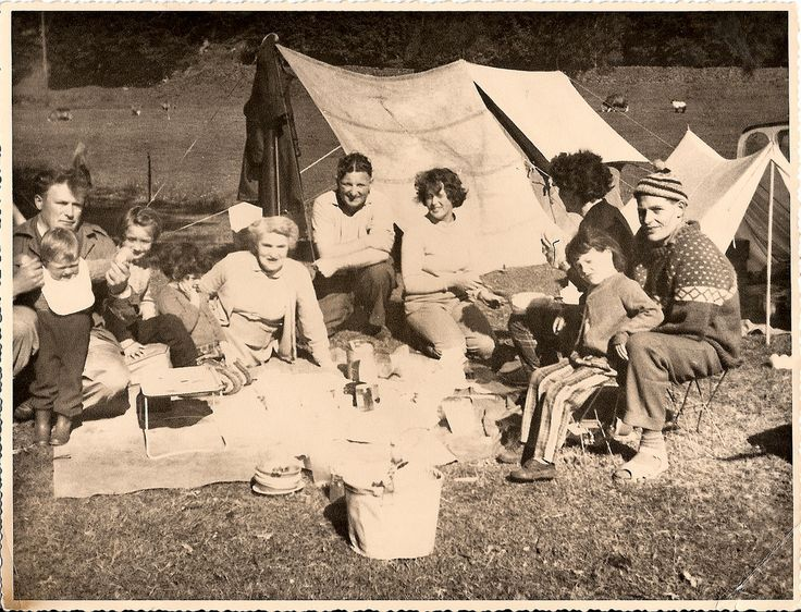 'Camping' Your Style: Vintage Pics of Happy Campers - -