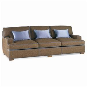 designer dan carithers | Sherrill Dan Carithers Traditional Tufted High Back Sofa with Nailhead ...