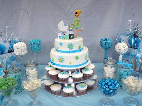 baby shower centerpiece ideas for boys baby shower candy bar 40