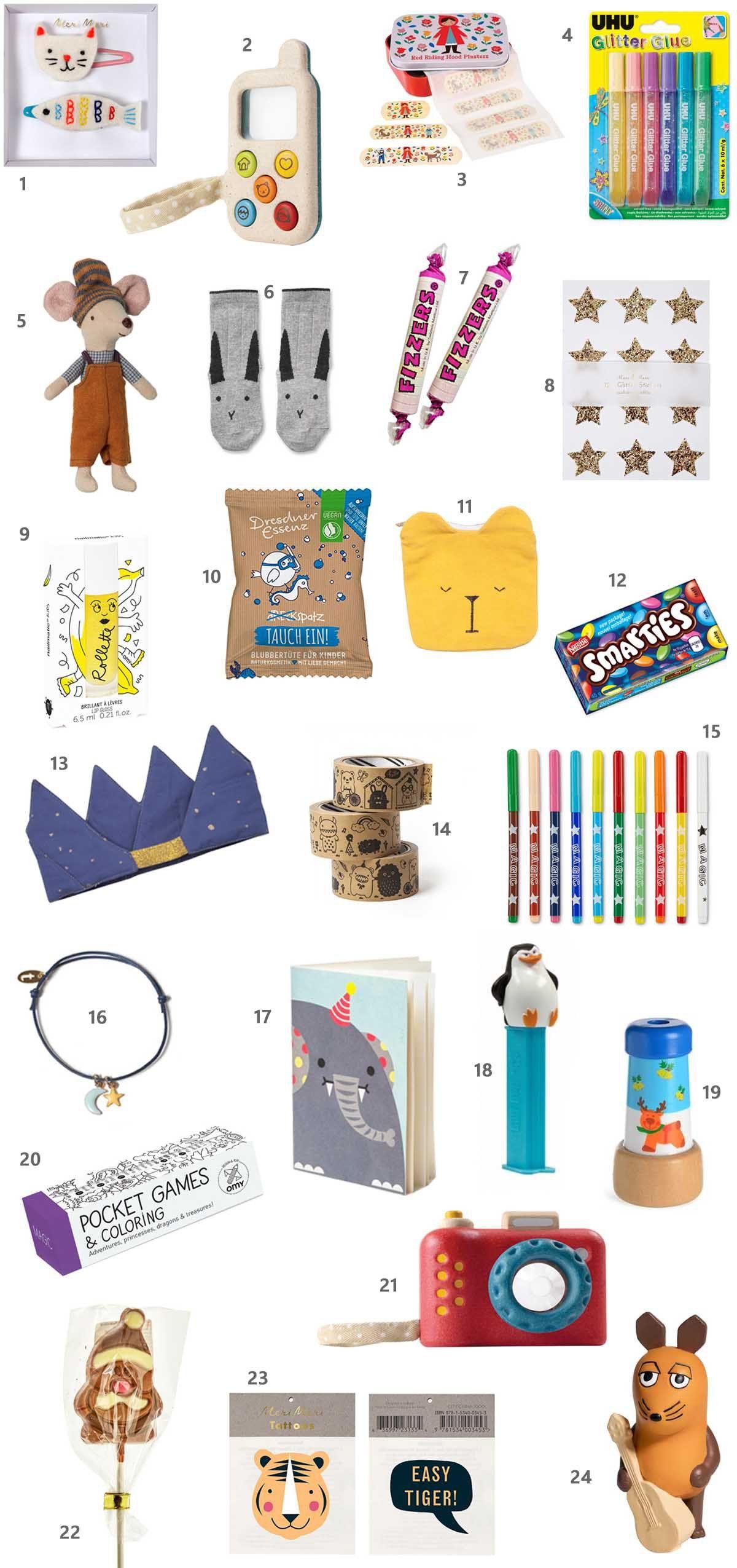24 Geschenkideen für den Adventskalender | Adventskalender | Pinterest