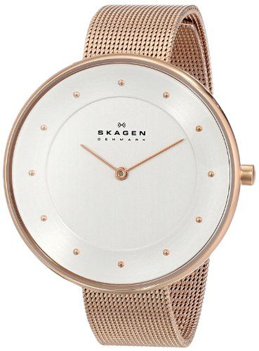 91f6b345cfe Women s Wrist Watches - Skagen Womens SKW2142 Gitte Rose Gold Mesh Watch      Learn more by visiting the image link.