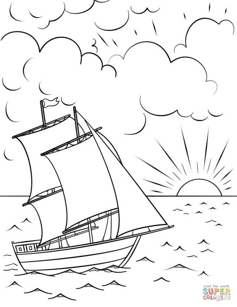 malvorlage segelboot einfach  tiffanylovesbooks