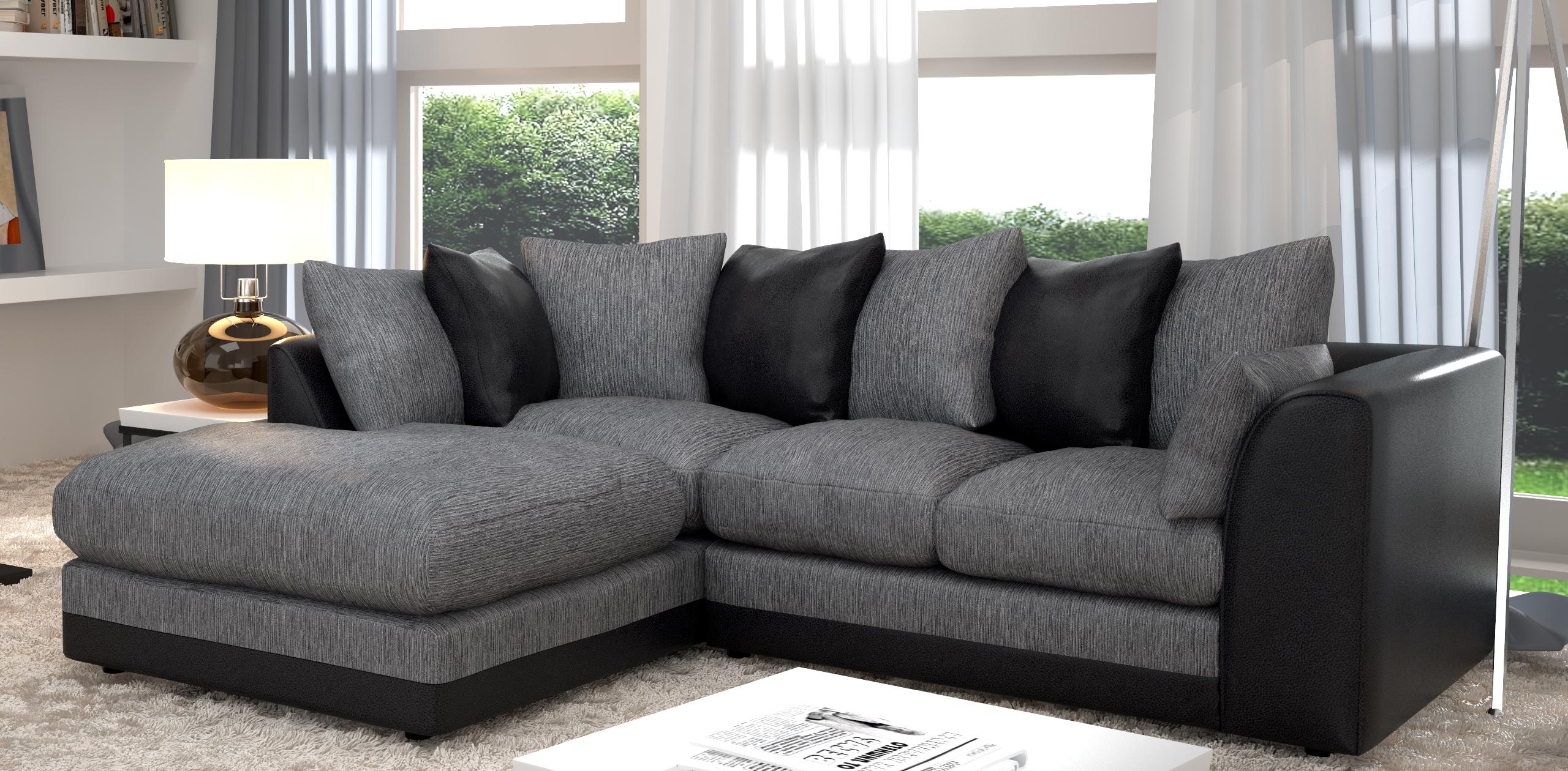 Elegant Black And Grey Sofa 74 On Fabric Sofa Ideas With Black And Grey Sofa  Luxury Black And Grey Sofa
