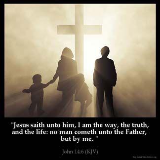Inspirational Image for John 14:6