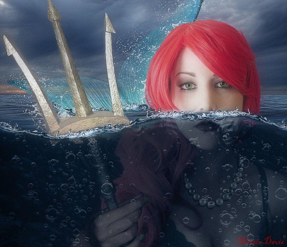 Redhead Mermaids Beautiful Mermaid Real