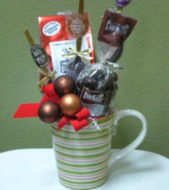 Coffee Mug Gift Chocolate Covered Coffee Beans And Flavored Coffee Spoons Chocolate Covered Coffee Beans Mugs Christmas Mugs