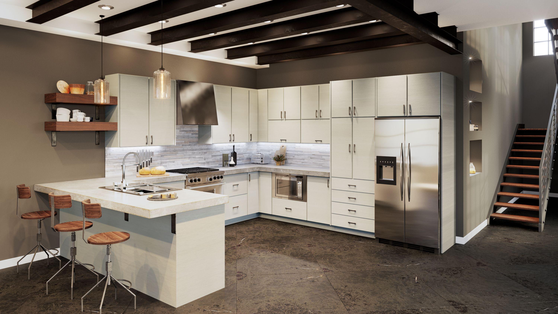 Us Cabinet Depot Torino White Pine Waverly Cabinets Pine Kitchen Kitchen Cabinet Storage Kitchen Design