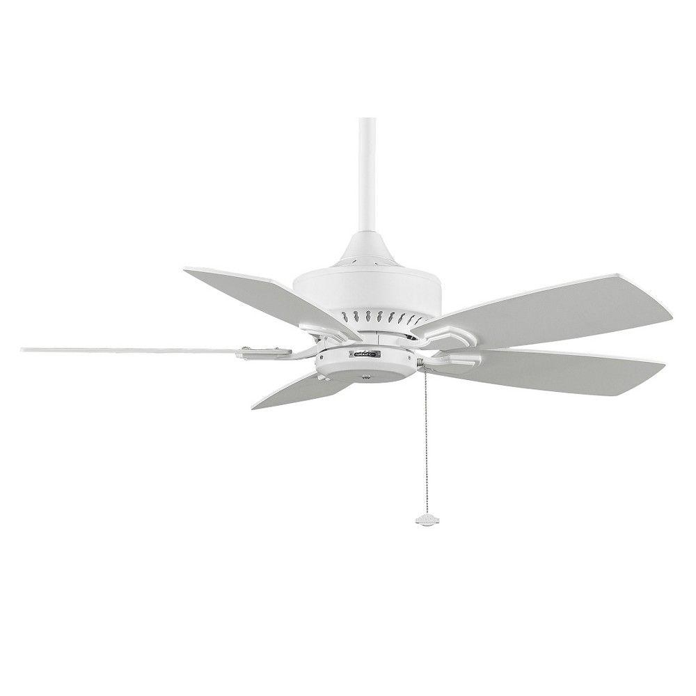 Fanimation 42 Cancun Ceiling Fan, White