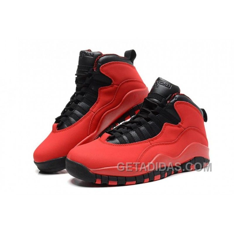 "Air Jordans 10 Retro ""Fusion Red"" For Sale Authentic 2X55ak"