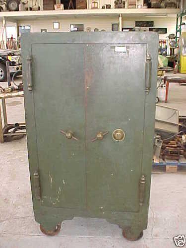 Antique Safe Made By The Halls Safe Lock Co 1885 2