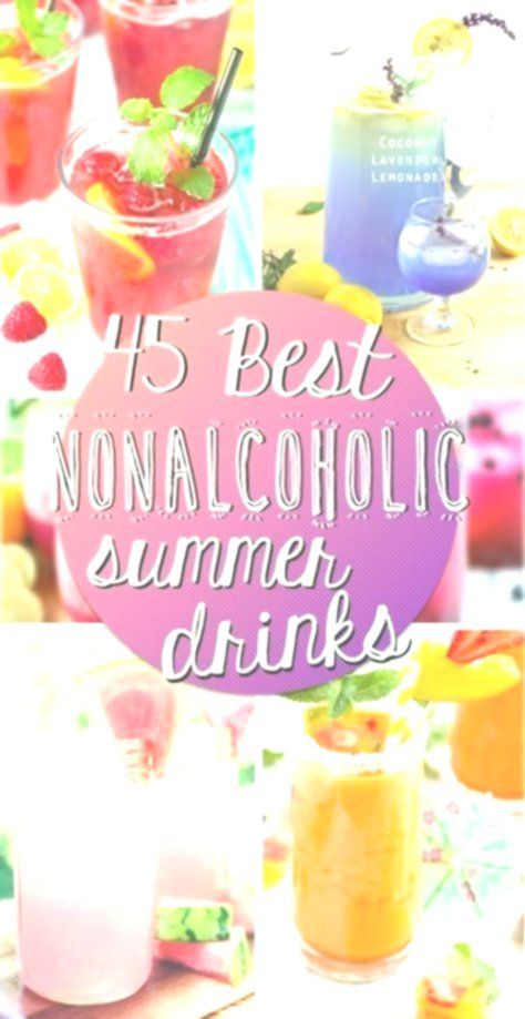 40 Best Nonalcoholic Summer Drinks - #drinks #NonAlcoholic #Summer #nonalcoholicsummerdrinks