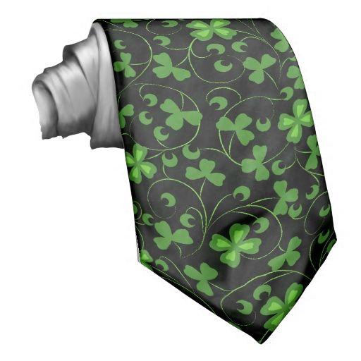 Black Irish Neck Ties