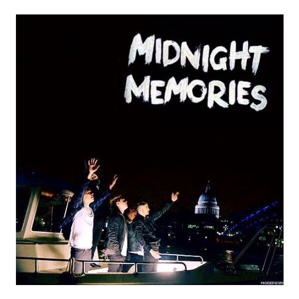 midnight memories One Direction found on Polyvore featuring one direction