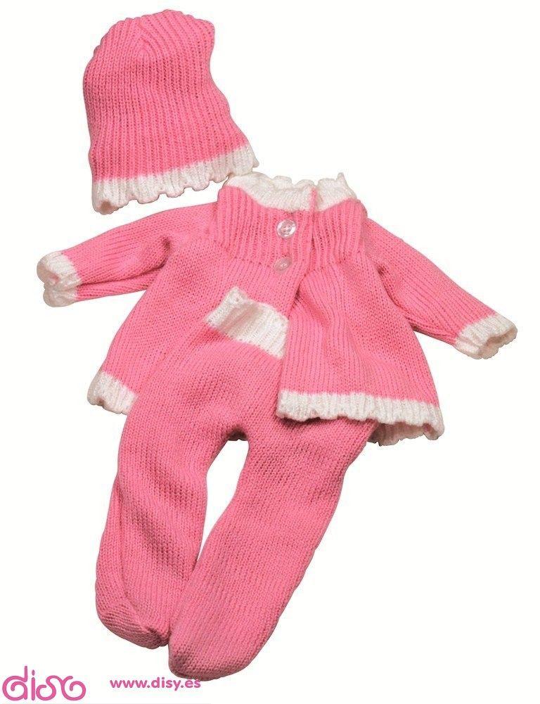 ropa muneco bebe 42 cm