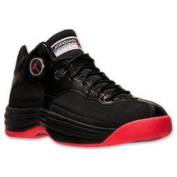Men's Jordan Jumpman Team 1 Basketball Shoes | Finish Line | Black ...