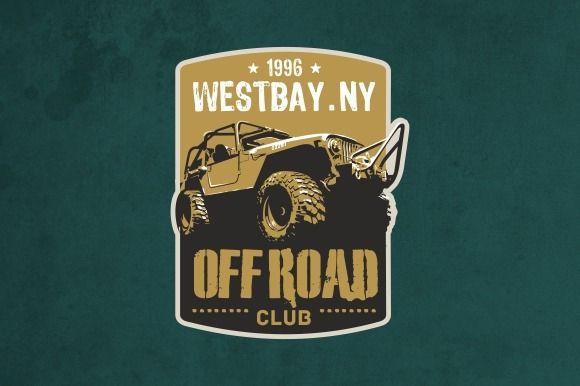 Offroad Club Logo Creative Logo Logo Templates Logos
