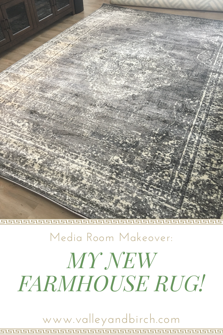 Beautiful Farmhouse Rug And Media Room Decor Inspiration