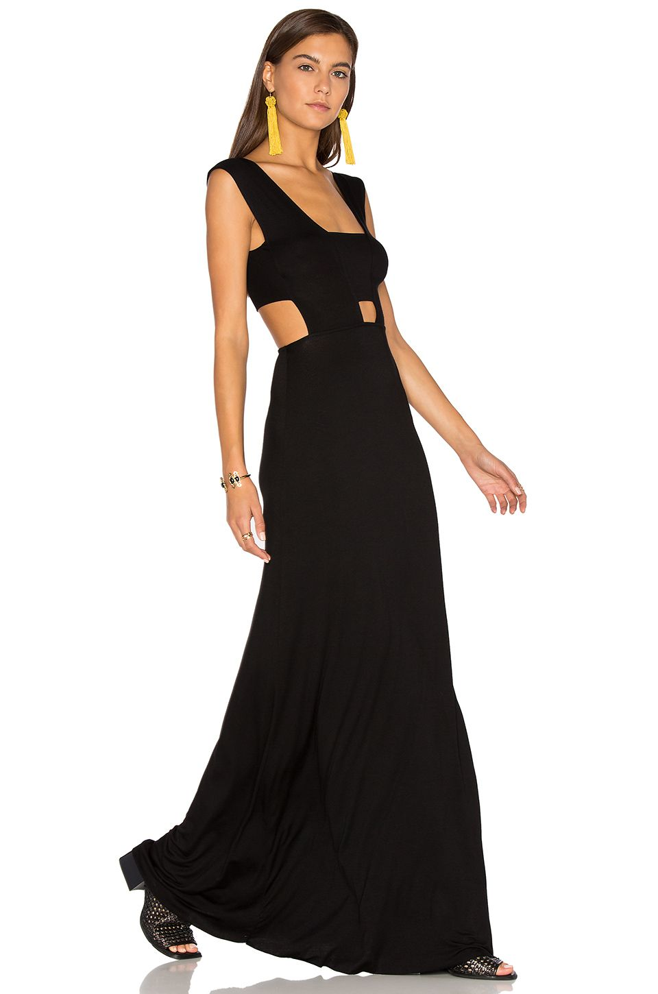 Black dress for wedding party  Clayton Michelle Dress in Black  I want what shes wearing